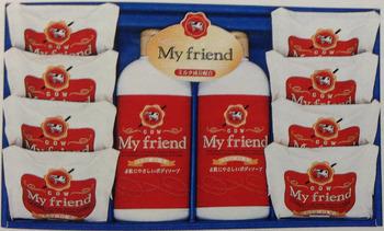 牛乳石鹸/ 石鹸 80g×4/ ボディーソープ 300ml×2