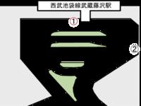 武蔵藤沢駅1のサムネイル画像