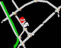 高倉寺周辺案内図