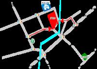 蓮華院周辺案内図