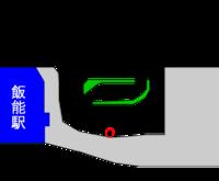 飯能駅バス停地図